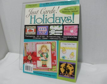 Just Cards Magazine - Volume 2 - Holidays - Special Issue 2010
