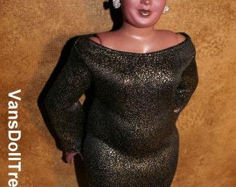 Dasia Clothing Bronze Body Con Dress