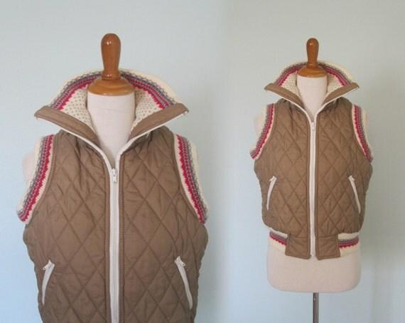 Vintage des ann es 80 puffy veste avec gilet par badchollavintage - Veste annee 80 ...
