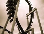Hersheypark Great Bear Loop Print