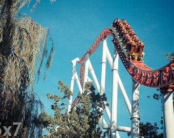 Hersheypark Storm Runner Roller Coaster Print