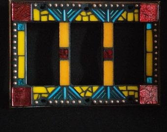 Rocker Switchplate- Orange/Red/Blue/Gold