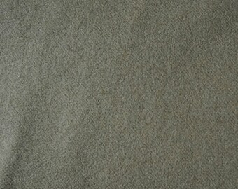 Khaki Green Hand Felted Wool Fabric Wool Perfect for Rug Hooking, Applique and Crafts by Quilting Acres