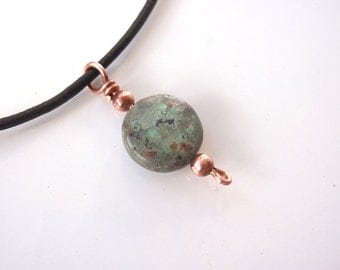 Men's or Woman's African Turquoise Choker