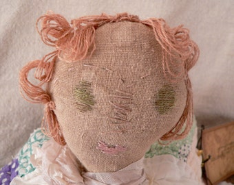Primitive Quilted Angel Doll ,Home Decor, Prims,Primitive Angel, Quilt, Quilts, Quilting, Angel,  Quilted Angel, Primitives, Prims,  HAFAIR