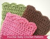 PATTERN - Crochet Scalloped Boot Cuffs