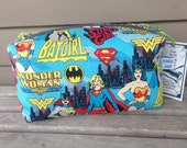 Superheroes Zipper Pouch