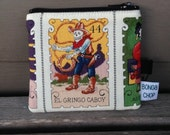 Lotteria Gringo Cowboy Mini Wallet with ID Holder