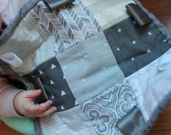Mini Quilt, Gray is my Favorite Color