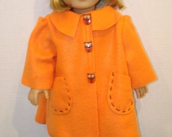American Girl doll clothes/Coat and Hat/Made to fit 18 inch American Girl dolls/READY TO SHIP