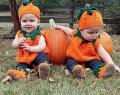 2 pumpkin costumes