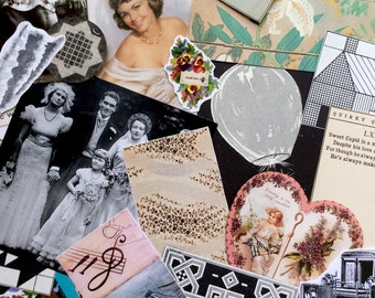 Here Comes the Bride!--Paper Ephemera Scrap Pack, 100+ images