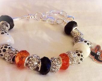 Baltimore ORIOLES  jewelry bracelets handmaded Necklace