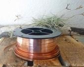 Copper Bezel Wire 5 Feet x .025, 28 Gauge Flat Wire, Free Shipping