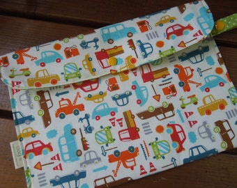Diaper clutch, diaper case, on the go diaper bag, baby boy diaper bag - Transportation
