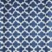 Pleated curtain panels drapes, Fynn Cadet blue cotton, French pleats, pinch pleats