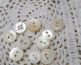 White buttons # 1