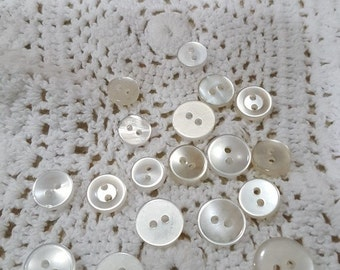 White buttons # 2