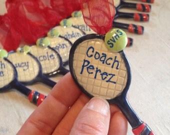 Custom Team Tennis Racket