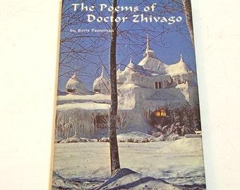 The Poems Of Doctor Zhivago By Boris Pasternak Vintage Hallmark Book