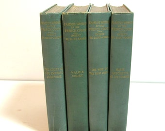 Famous Women Of The French Court By Imbert De Saint-Amand, Set Of Four Antique Books