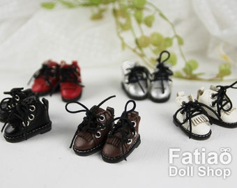 Fatiao - New Lati Yellow Pukifee BJD Dolls Shoes Martin boots (Size 2.8cm)