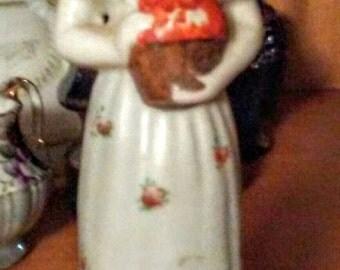 Occupied Japan Girl Figurine