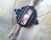 For My Love of Mucha - Victorian Necklace