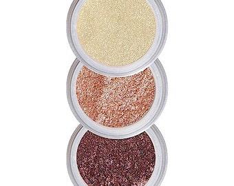 Eyeshadows for Hazel Eyes, Coordinated Colors, Brighten Hazel Eyes, Eye Shadow, Eyeshadow Kit, Pure Natural Makeup, Crease Free Color