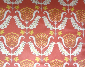 Nursery or Girls Room Decor Fabric by the Yard,Greenhouse Fabrics,Tulips,100% Cotton,Drapery,Upholstery,Bags,Crafts Use.You Pay Shipping