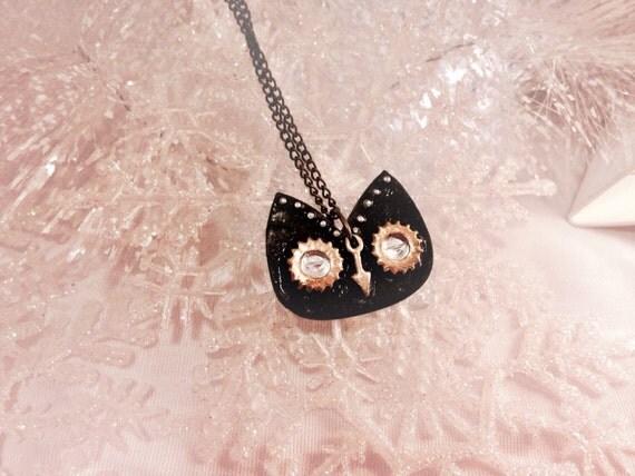 Steam Punk Owl Necklace