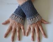 EMMA, Crochet wristlet pattern, pdf