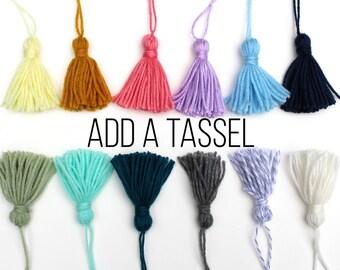 Add a Tassel