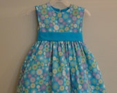 Fun flowral kids dress for birthday/Christmas party and all occasions