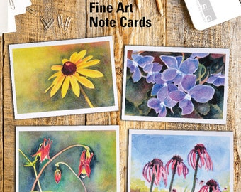 Wisconsin Wildflowers Note Card Set of 4