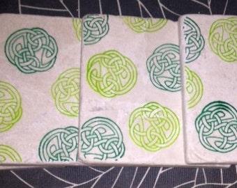 Celtic Circle Knot Coasters