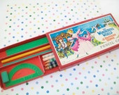 1962 Pencil Case, Brothers Grimm, Metro Goldwyn Mayer, 1960s