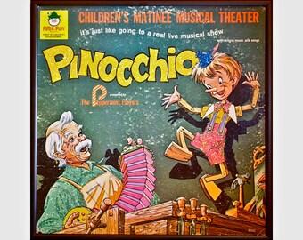 Glittered Pinocchio Album Art