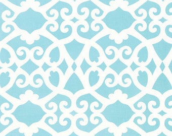 Clover in Aqua...  Meadow by Dena Designs ... Your choice of cut .. Aqua colorway