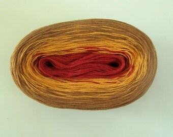 PAPRIKA II  Color Changing Cotton yarn  480 yards/100 gr  Fingering Weight