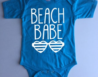 Beach Babe - Bodysuit, Tank Top or Tshirt