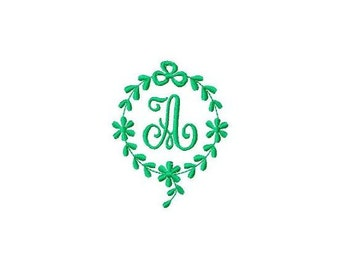INSTANT DOWNLOAD Monograms Machine Embroidery Designs Set # 35
