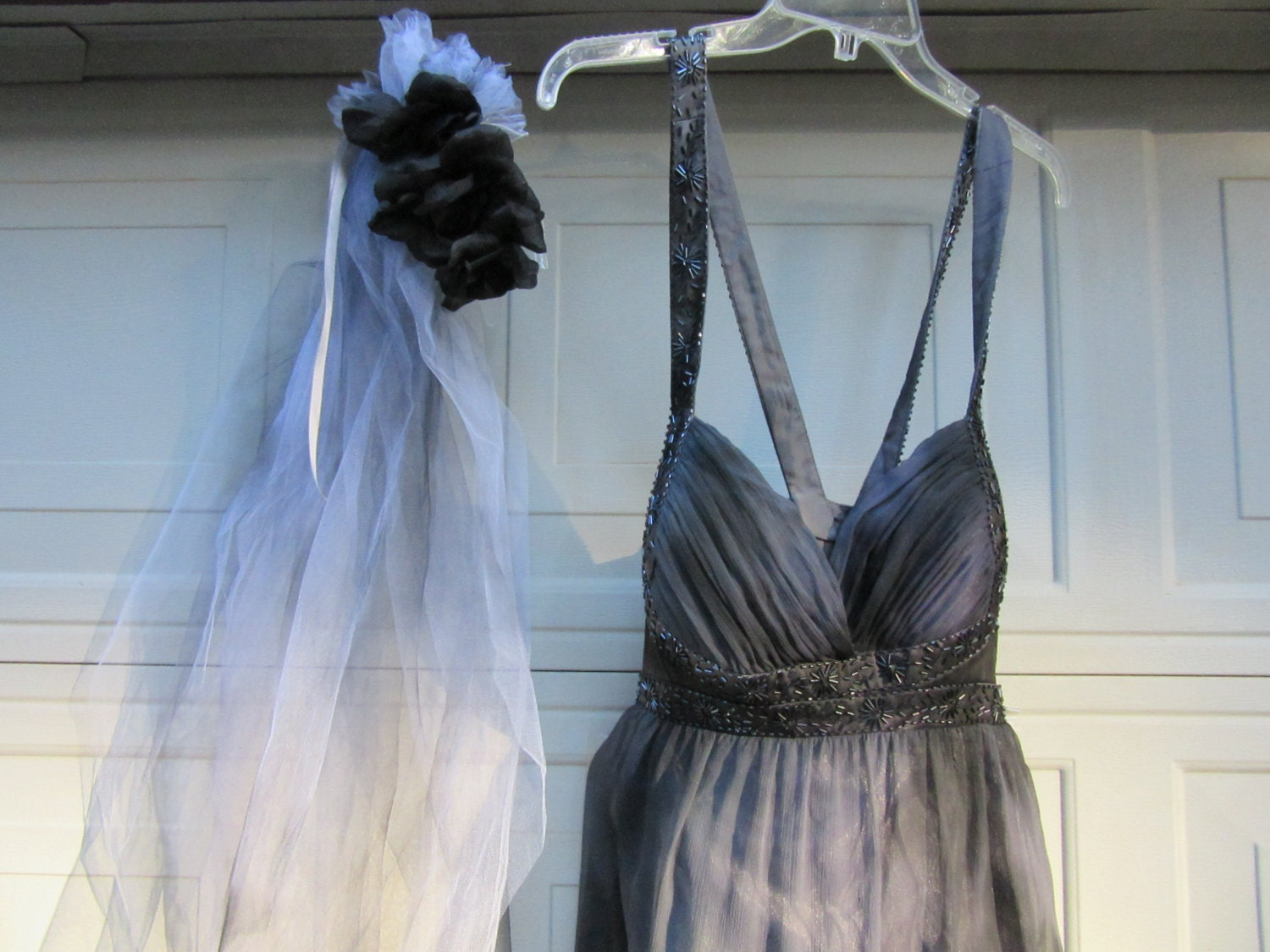 Corpse Bride Wedding Gown: Day Of The Dead Corpse Bride Costume Dress Womens Size 14 XL