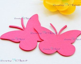"63 Butterfly  II Tag Size 4.00"" -Butterflies Labels -Butterflies Tags -Custom Paper Butterflies die cuts - Butterflies Labels"