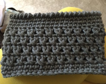 Grey X boot cuffs