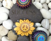 Set of 3 Special Peace Rocks