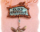Fairy Crossing wall plaque