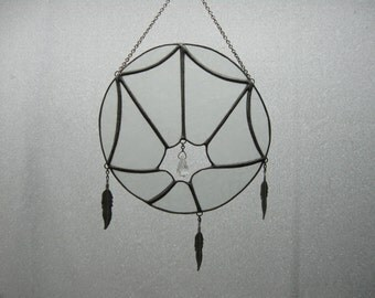 Dreamcatcher Stained Glass Suncatcher