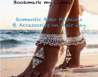 Boho Bohemian Hippie Jewelry Ankle bracelet