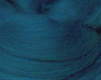 18 Micron Wool Roving - 50 grams (1.75 oz) - Bay